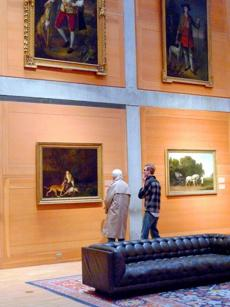 The Yale Center for British Art houses the largest collection of British art outside the United Kingdom.